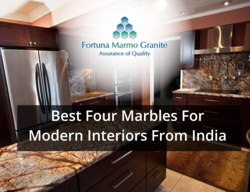 Best Four Marbles For Modern Interiors From India
